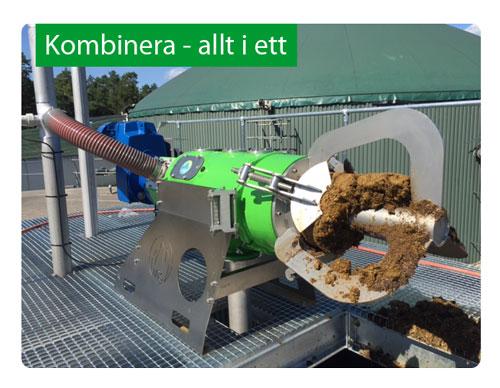 FSP Combi - producera strö och utnyttja växtnäringen med ett enkelt byte av sil - allt i ett