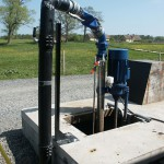 Eldriven pump för gödsel Bollerup Lantbrukskola