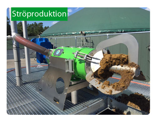 Ströproduktion - separering av gödsel och producera dagsfärskt strö på gården