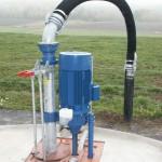 VM 3041Eisele gödselpump försöksstallet
