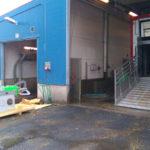 UTS Separator har just anlänt och installation påbörjas